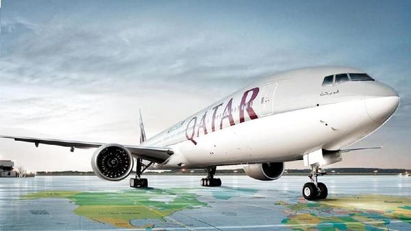 Foto: Terakhir, ada maskapai Qatar Airways yang juga aman dari kecelakaan fatal. Maskapai ini hanya pernah mengalami 2 kali insiden pesawat terbakar. Itu pun pesawat mereka sedang di dalam hangar di Bandara International Hamad, Qatar. (Qatar Airways)