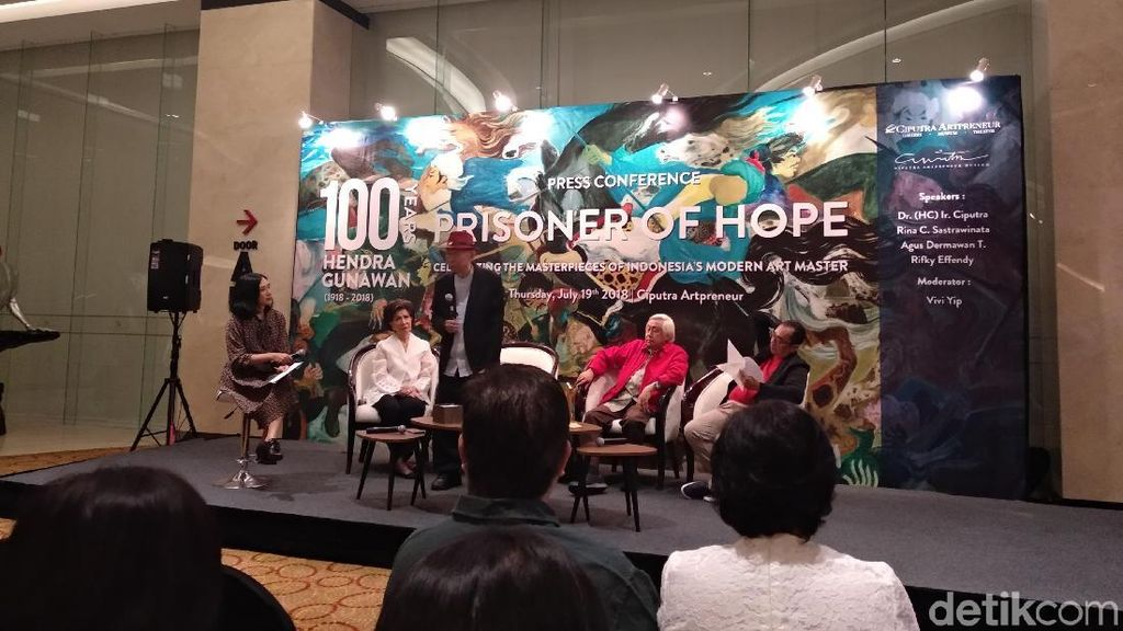 100 Tahun Hendra Gunawan Jadi Pameran Terbesar Sang Maestro