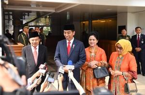 KH Said Kritik Penguasaan Lahan, Jokowi: Bukan Saya Pemberi Konsesi