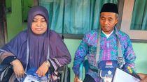 Usai Operasi Patah Tulang, Atik Akhirnya Berangkat Haji