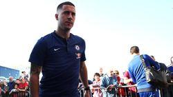 Sarri Ingin Pertahankan Hazard di Tengah Rumor Real Madrid