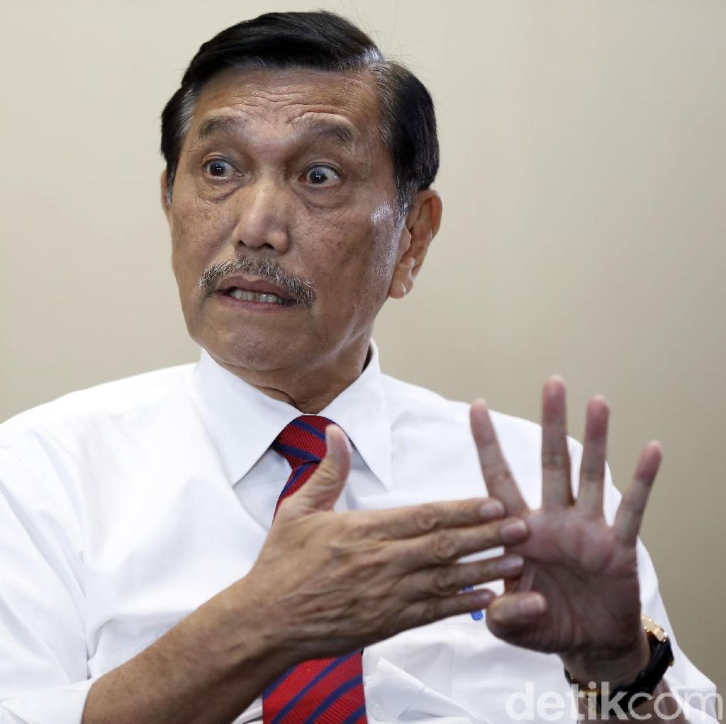 Luhut Pandjaitan Ungkap Kriteria Cawapres Jokowi