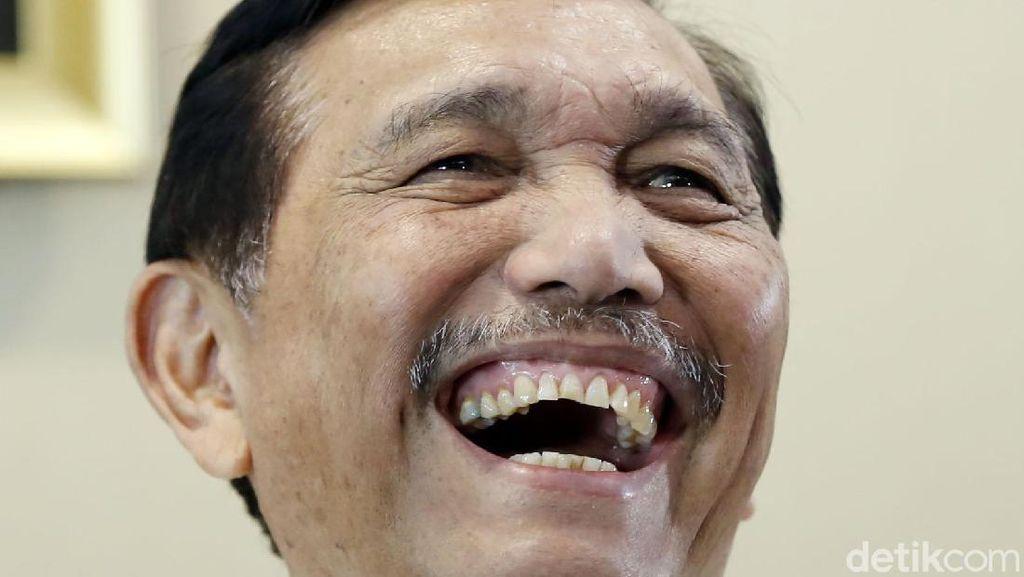 Luhut Cerita Masih Rajin Lari 6 Kali Seminggu di Usia 73 Tahun