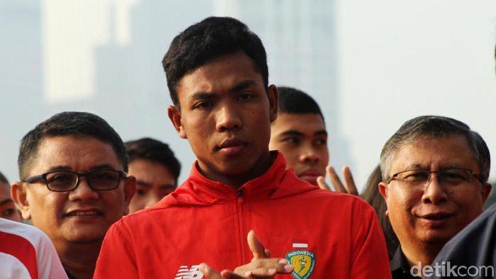 Lalu M Zohri dulu pernah lebih mementingkan sepakbola ketimbang atletik (Foto: Rifkianto Nugroho)