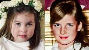 Penjelasan Ilmiah Kenapa Putri Charlotte Mirip dengan Lady Diana