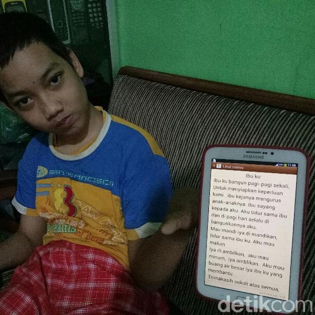 Anak Difabel yang Terganjal Surat Mutasi: Saif Ingin Sekolah