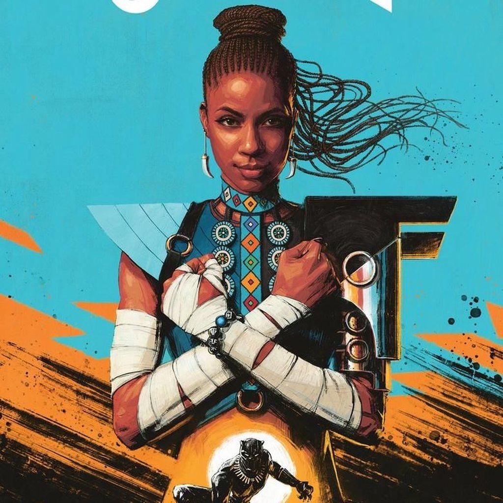 Shuri Bersiap Ambil Jubah Black Panther Lagi di Komik Terbaru