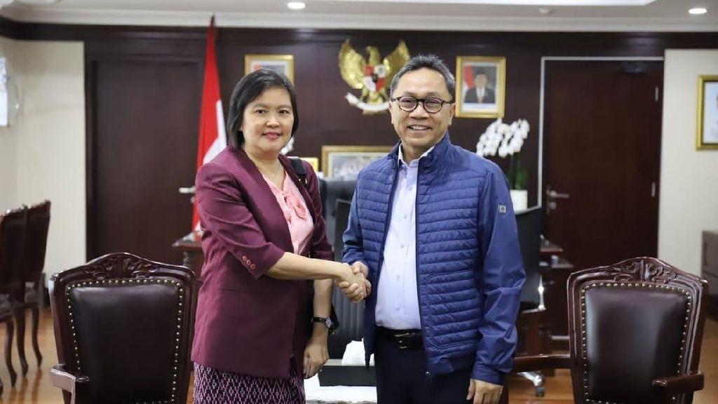 Bertemu Dubes Myanmar, Ketua MPR Tegaskan Sikap RI Bela Rohingya