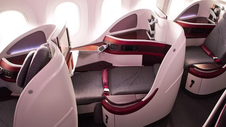 Foto: Ilustrasi business class (Qatar Airways)
