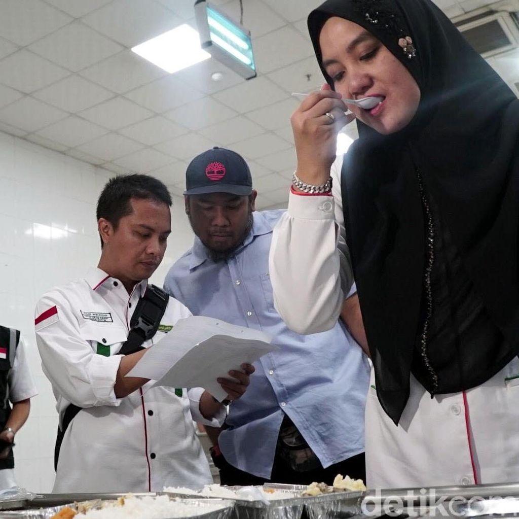 PPIH Pantau Makanan Jemaah Haji Indonesia