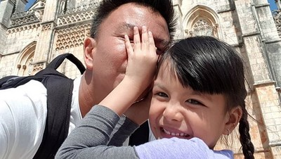 Ucapan Terima Kasih Jerry Aurum Atas Doa untuk sang Putri