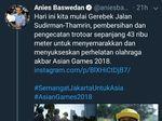 Soal Tweet Trotoar 43 Ribu Meter, Anies: Itu Jelas Error