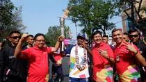 Telkomsel Kawal Pawai Obor Asian Games 2018