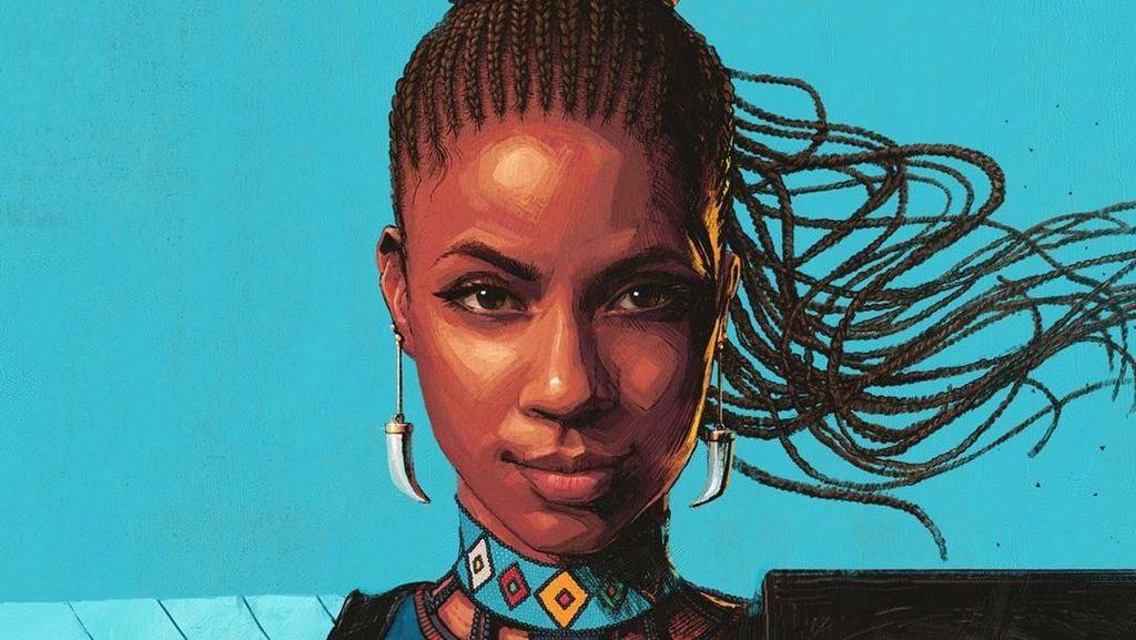 Bergaya Salut Wakanda Forever, Begini Sampul Komik Shuri