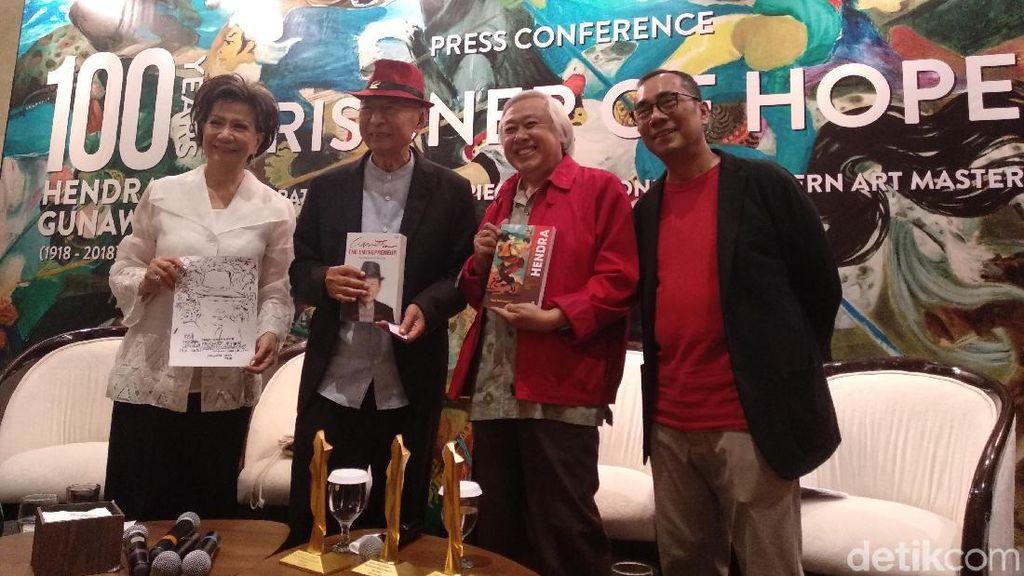 Ciputra Artpreneur Rayakan 100 Tahun Maestro Hendra Gunawan