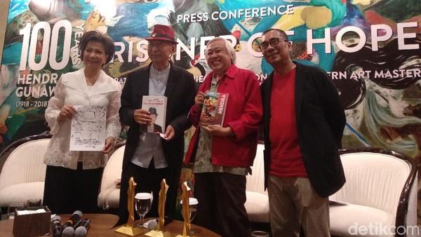 70 Seniman Respons Pameran 100 Tahun Hendra Gunawan
