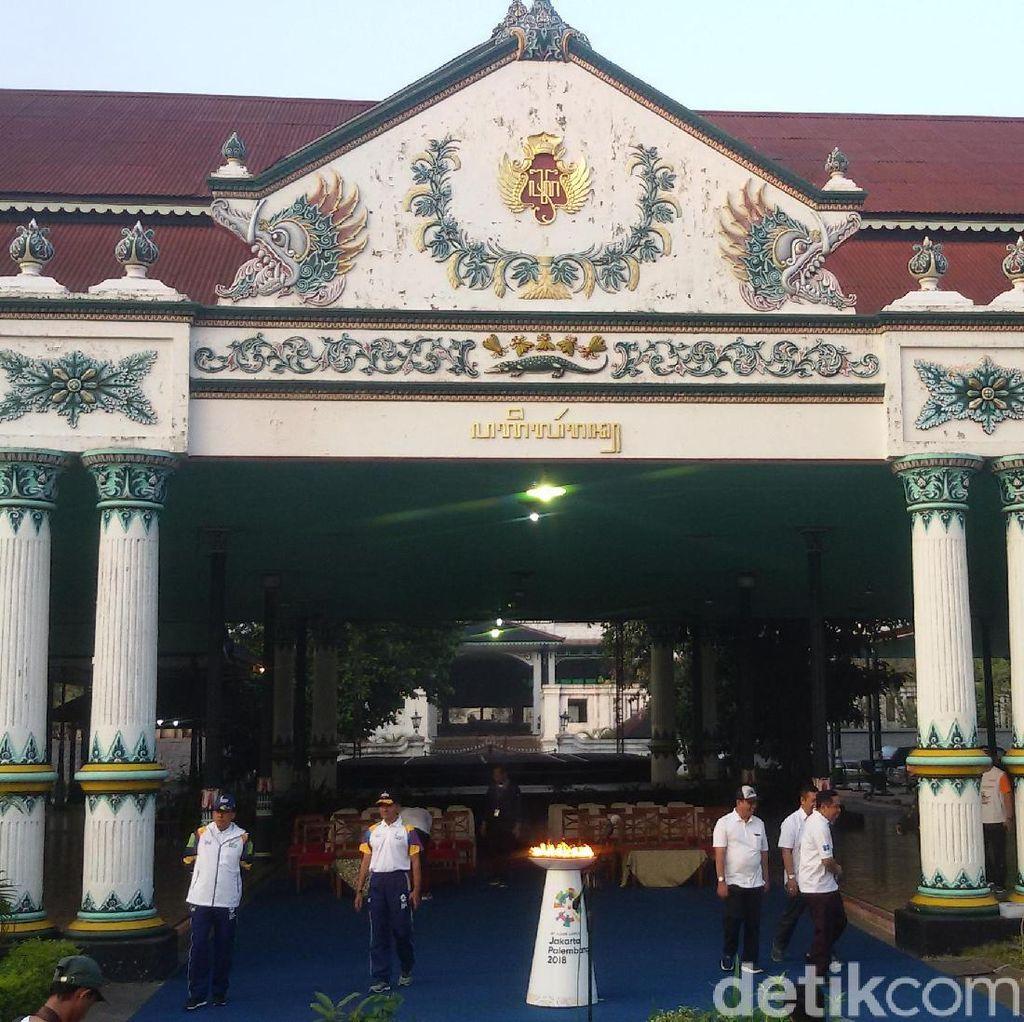 Kirab Obor Asian Games akan Dimulai dari Keraton Yogya Pagi Ini