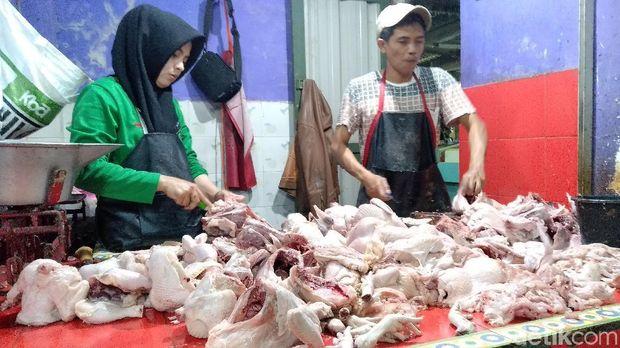 Harga ayam di Malang naik/