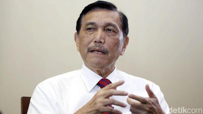 Menteri Koordinator Bidang Kemaritiman Luhut Binsar Pandjaitan/Foto: Rachman Haryanto