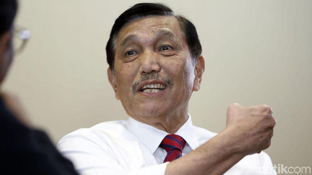 Luhut: Kalau Bicara soal Kemiskinan Jangan Ngajarin Pak Jokowi