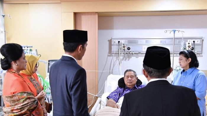 Ical sebut SBY sakit infeksi ginjal. Foto: Laily Rachev - Biro Pers Setpres