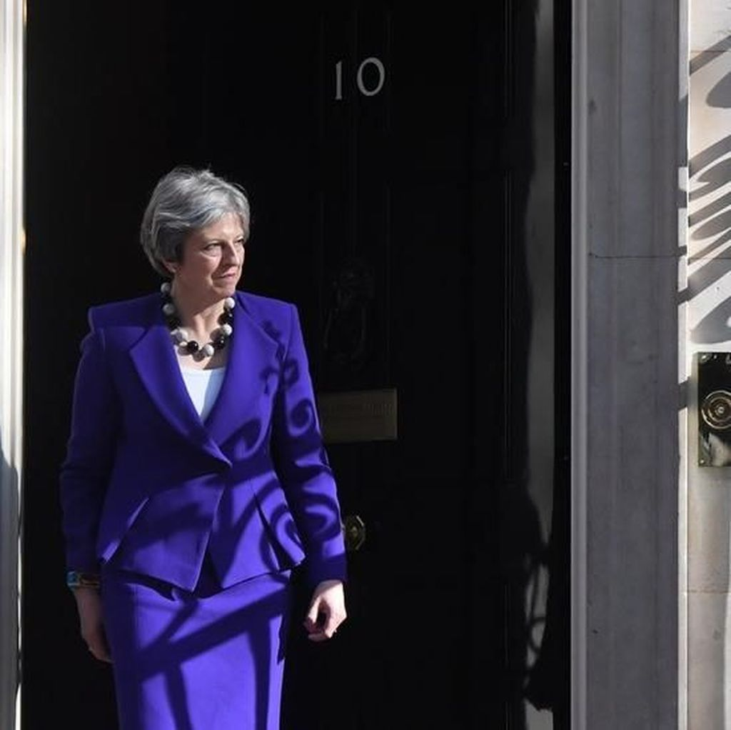 Inggris Bongkar Rencana Pembunuhan PM Theresa May
