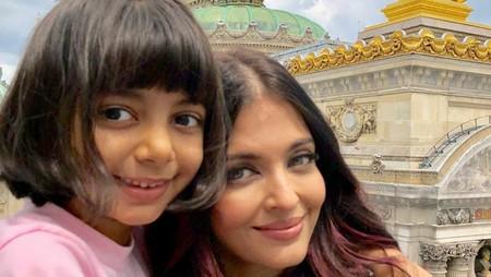 Cute-nya Aaradhya, Putri Aktris Bollywood Aishwarya Rai