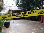 Polisi Olah TKP Rumah Mardani Ali Sera yang Diduga Dilempar Molotov
