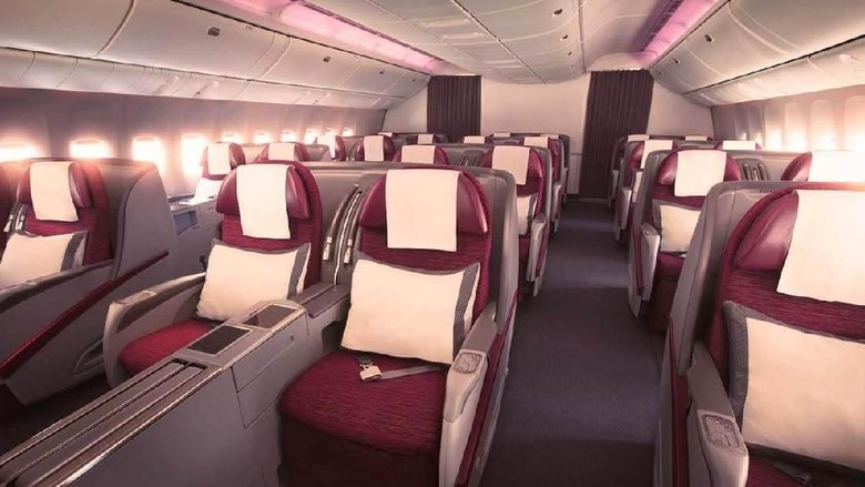 Business Clas Qatar Airways (Qatar Airways)