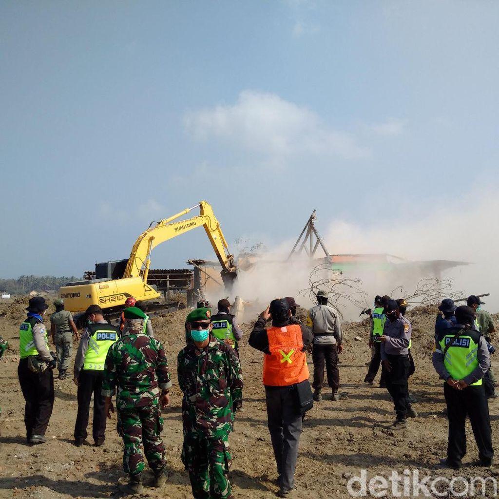 18 Rumah Warga Penolak Bandara Kulon Progo Akhirnya Dirobohkan