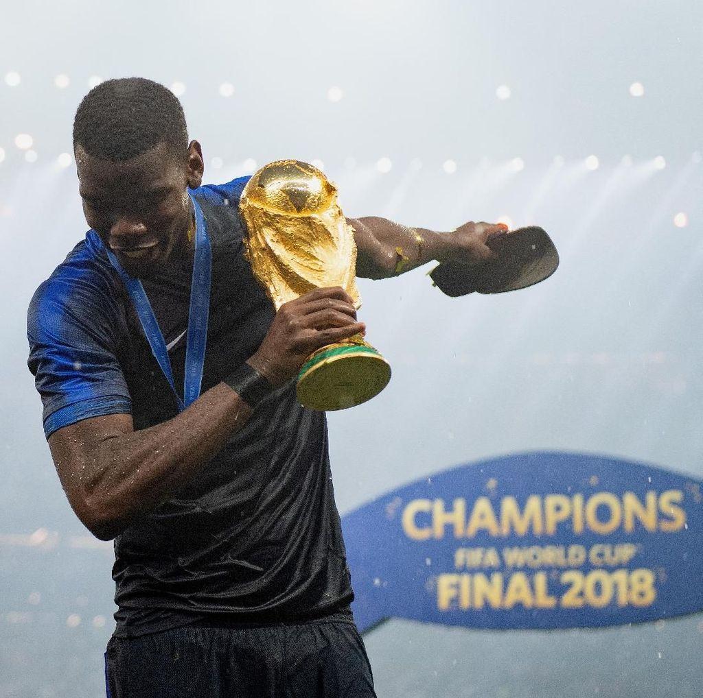 Tantangan Mourinho untuk Si Juara Dunia Pogba