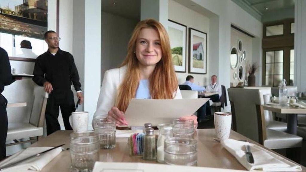 Tawarkan Seks, Agen Rusia Mariia Butina Kalahkan Anna Chapman