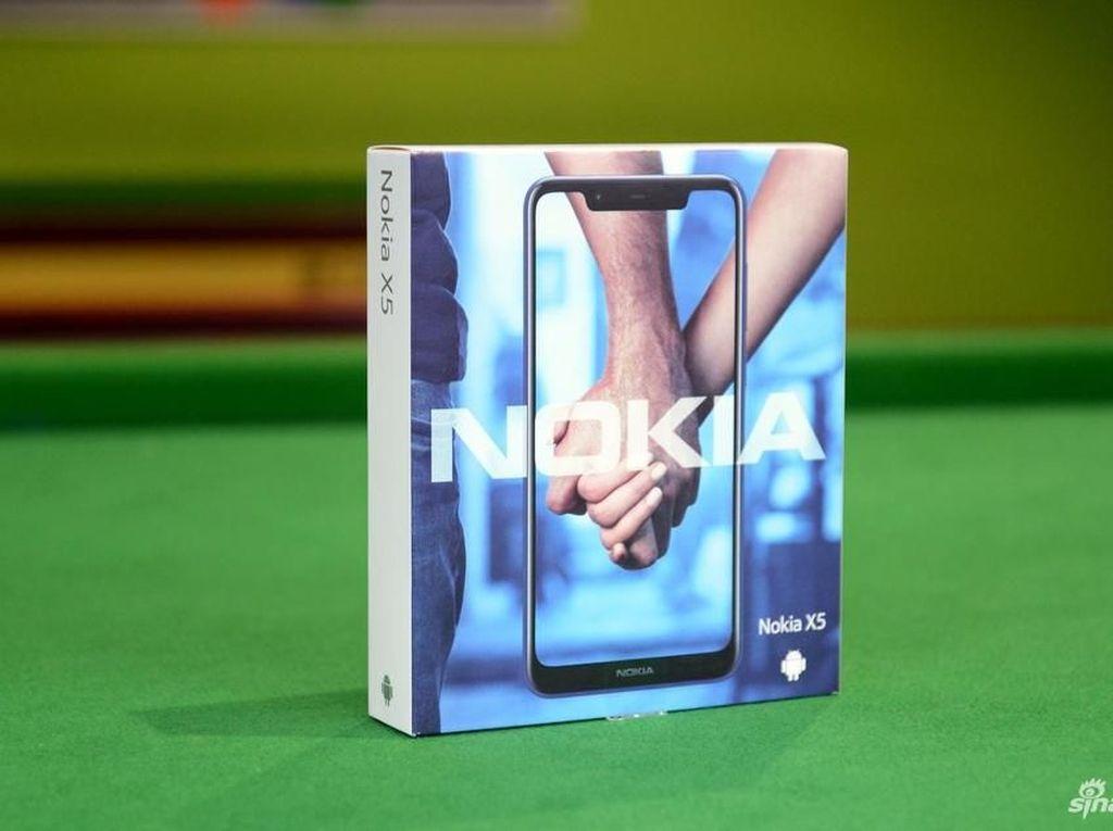 Penampakan Nokia X5 yang Lumayan Menggoda
