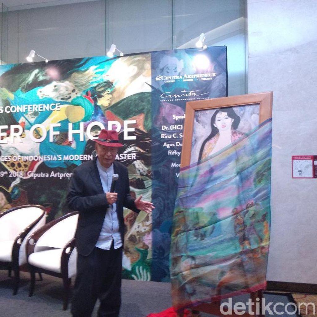 Bak Monalisa, Lukisan Nude Karya Hendra Gunawan akan Dipajang