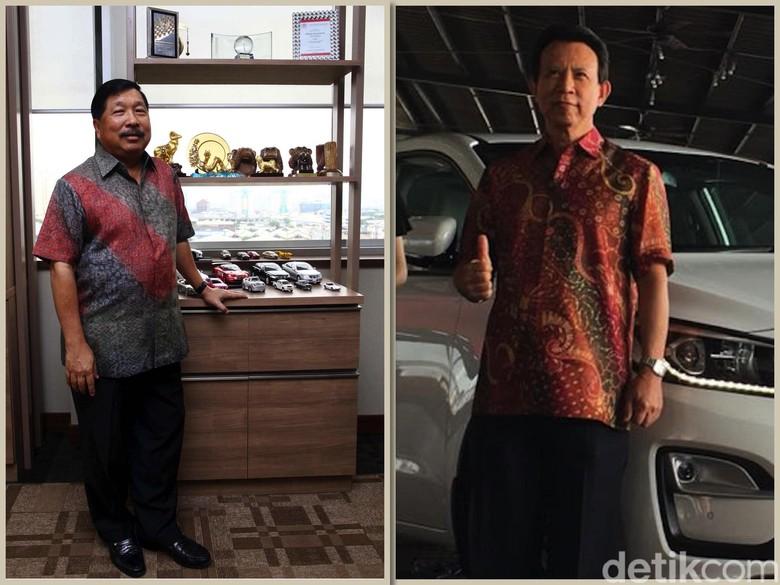 Johnny Darmawan Toyota (kiri) dan Kia (kanan) Foto: dok detikOto