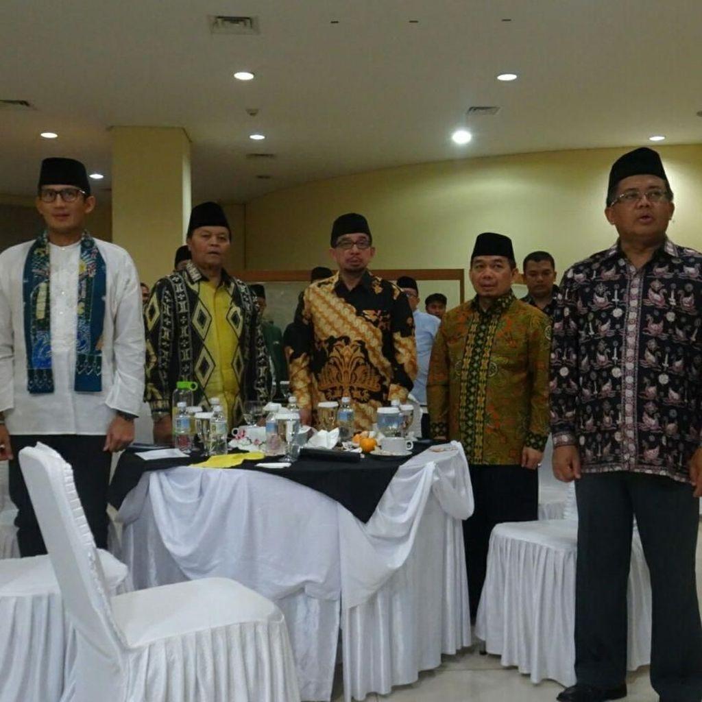Sandiaga Hadiri Konsolidasi PKS Jelang Pilpres 2019