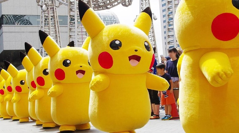 Pikachu Outbreak di Yokohama (Pokemon)