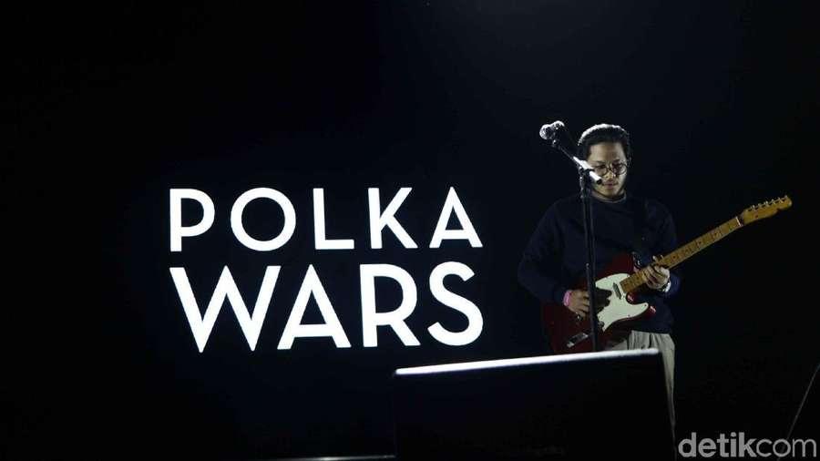 Senandung Polka Wars di We The Fest 2018