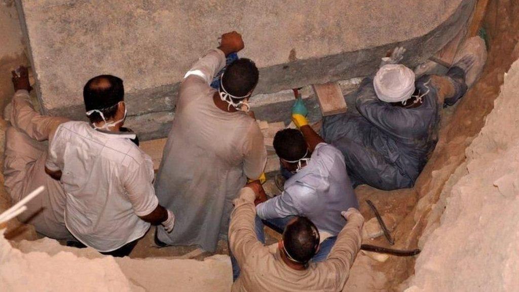 Peti Mati Misterius Zaman Firaun yang Bikin Heboh Akhirnya Dibuka