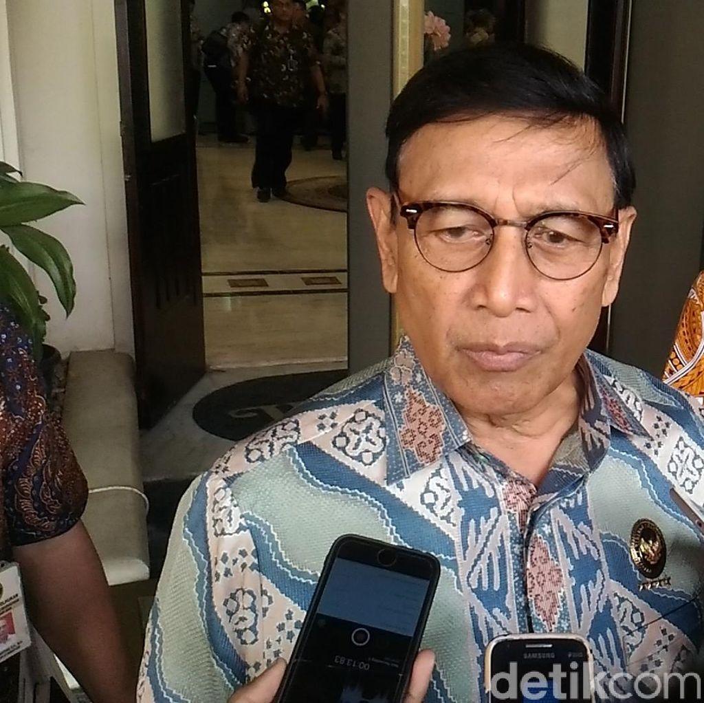 Wiranto: 6 PP Antiterorisme Harus Selesai Tahun Ini