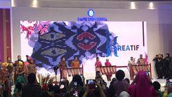 Bareng Gubernur BI, Ibu Negara Buka Pameran Karya Kreatif RI