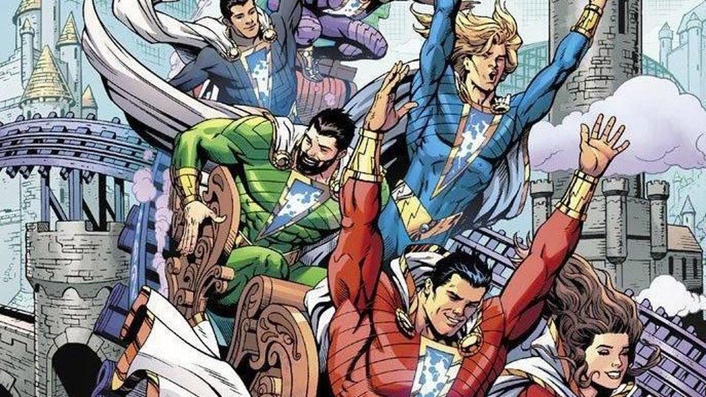 Superhero Shazam Muncul dalam Bentuk Komik
