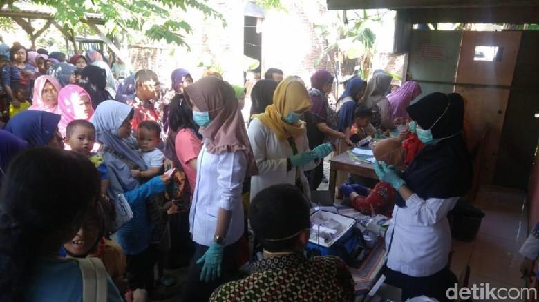 Ada 7 Kasus Difteri, Posyandu di Semarang Gelar Imunisasi