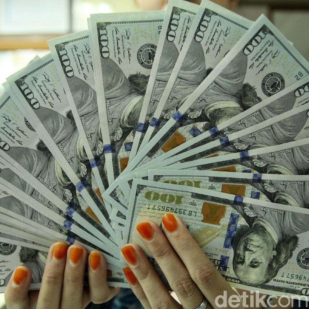 Melempem Lagi, Dolar AS Pagi Ini Rp 14.579