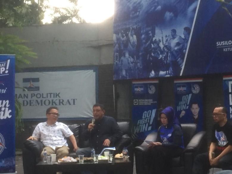PD Singgung Gerbong Besar Pilpres yang Cuma Beri Manfaat ke PDIP