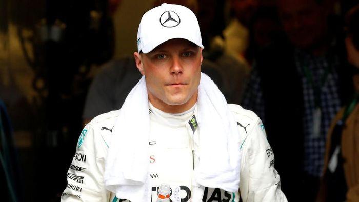 Pebalap Mercedes, Valtteri Bottas. (Foto: Leonhard Foeger/Reuters)