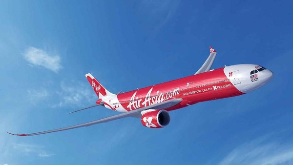 Maskapai penerbangan long haul AirAsia X sudah kehabisan uang dan butuh modal sebesar 500 juta ringgit (USD 120 juta atau sekitar Rp 1,7 triliun) agar pesawat-pesawat mereka bisa beroperasi. Dok. AirAsia