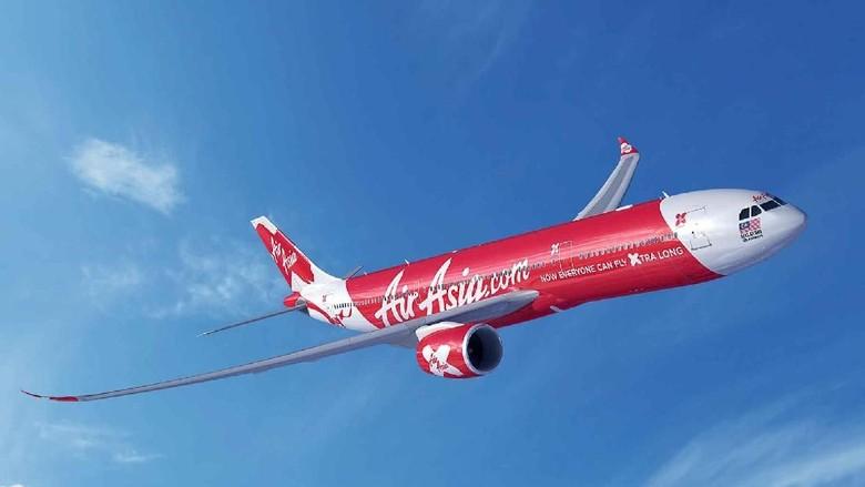 Ilustrasi pesawat AirAsia (Dok. AirAsia)