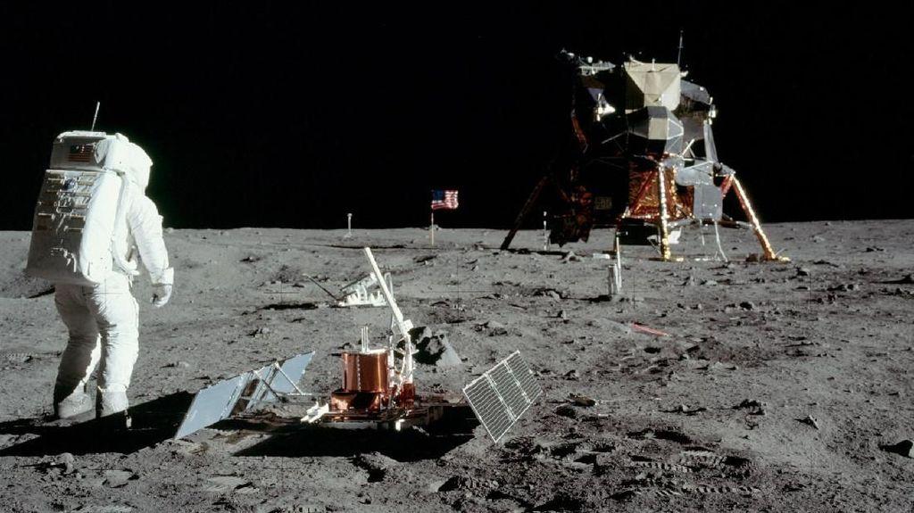 Sulitnya Daratkan Manusia ke Bulan Lagi