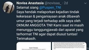 Viral Surat Terbuka Penganiayaan Diduga oleh Oknum TNI di Semarang